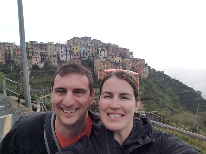 Hike on the Italian Coastline