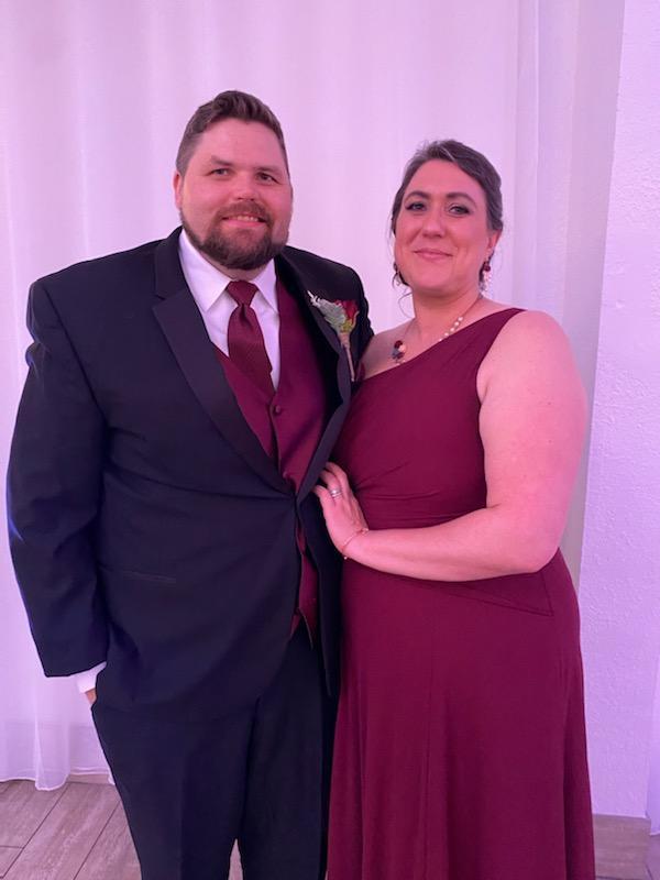 Brandon and Lynne