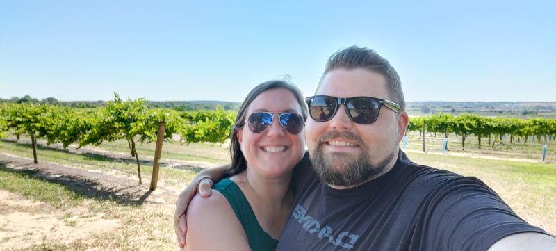 At a Winery