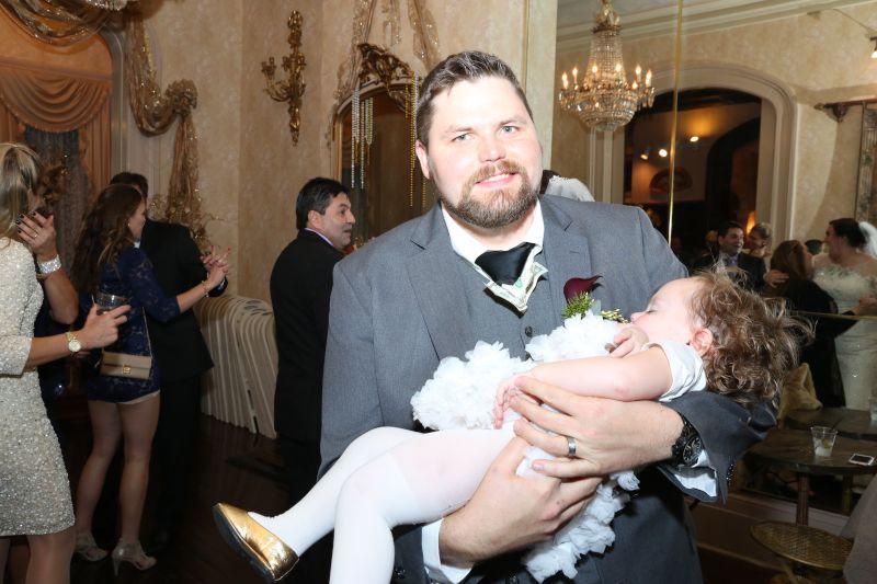 Brandon and Niece Aubrey