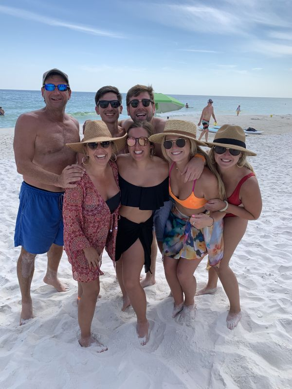 Annual Labor Day Beach Trip With Family