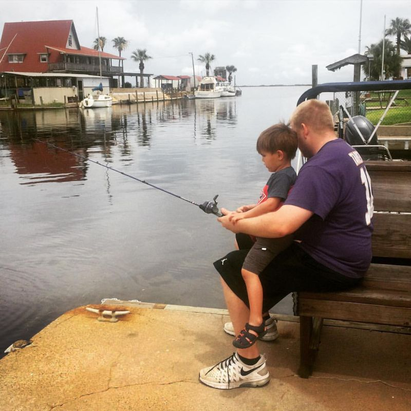 Fishing With Our Nephew