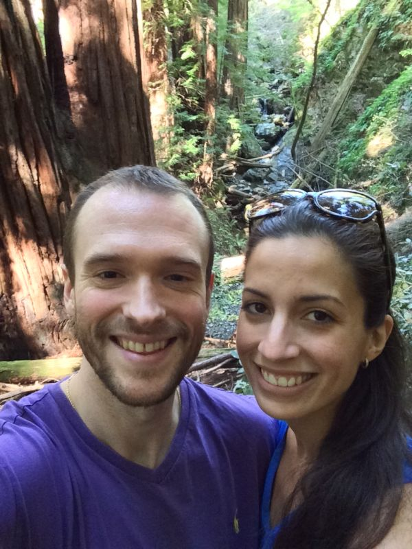 Hiking the Redwood Forest