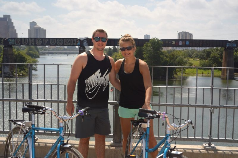 Biking in Austin