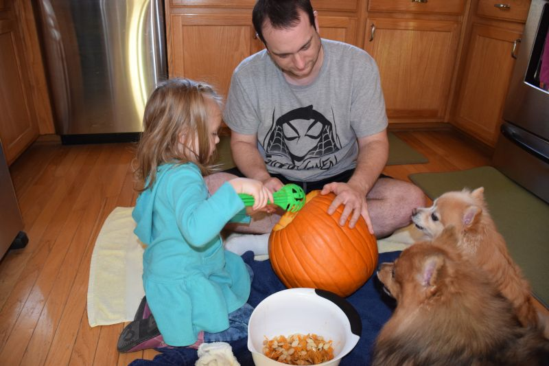 Pumpkin Carving With Family
