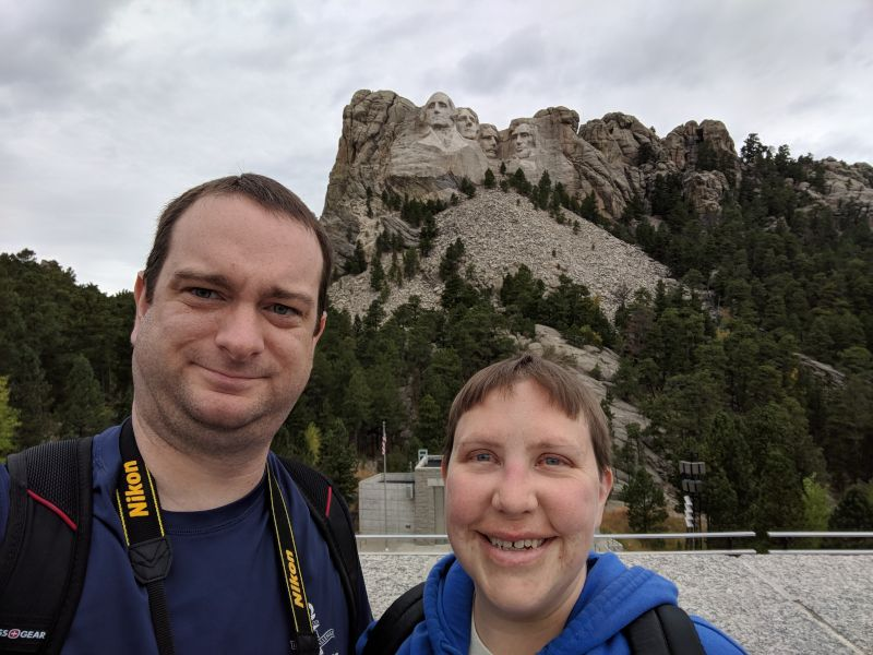 Visiting Mt. Rushmore