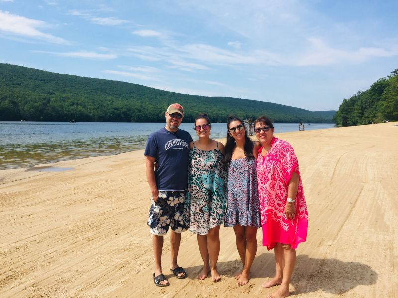 Perfect Lake Trip with Rena's Mom & Sister