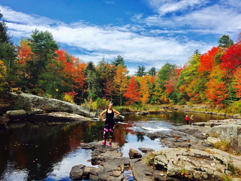 Hiking On a Beautiful Fall Day