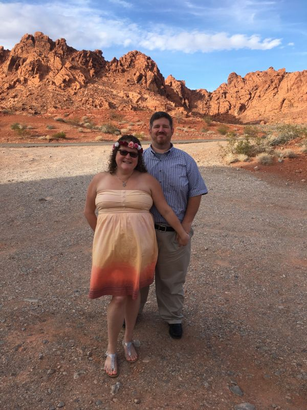 Visiting the Red Rock Canyon