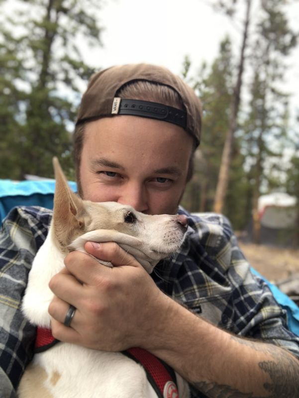 Camping With Milo