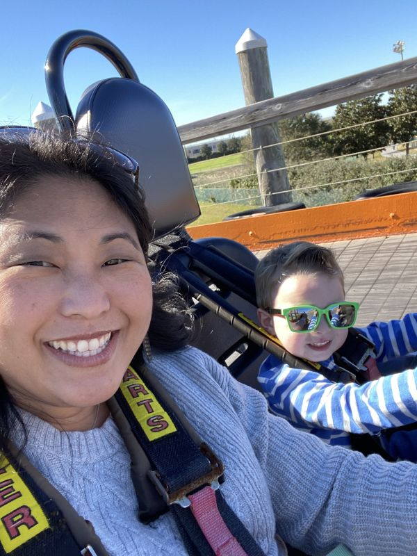 Go-Carts With Mom