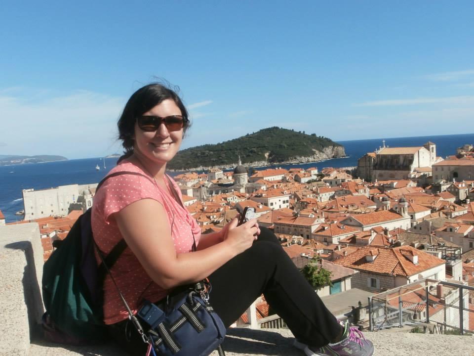 Becky Traveling in Croatia
