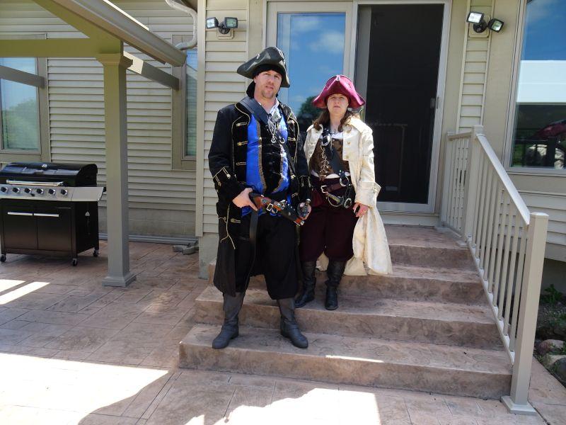 Renaissance Fair Pirates