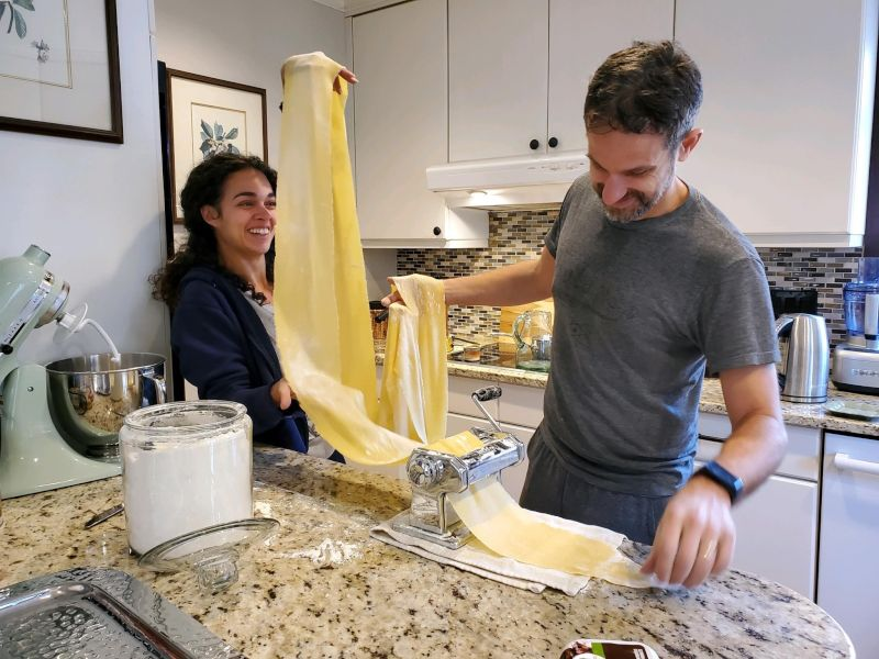 Making Homemade Pasta