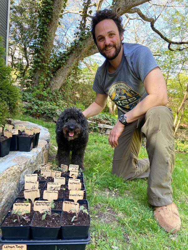 Gardening With Dunkin'