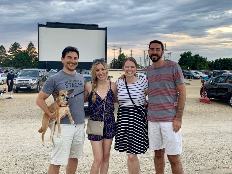 A Night at the Drive-In With Friends