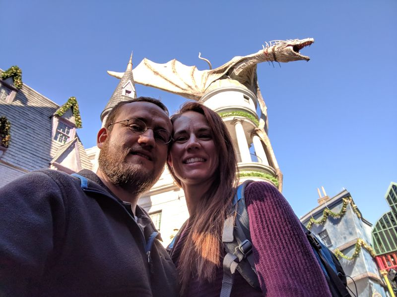Visiting Harry Potter World