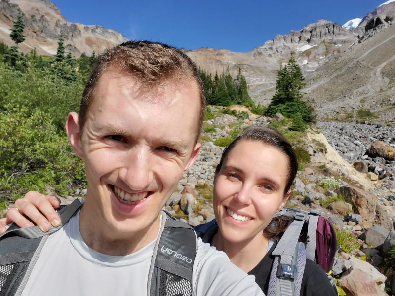 Hiking in the Central Cascades