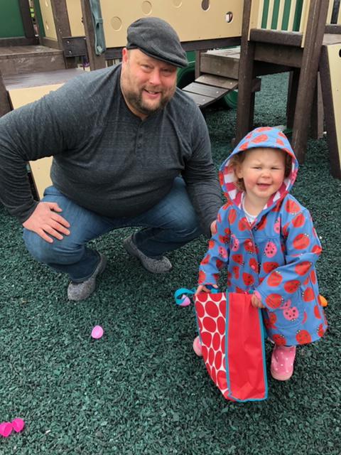 Easter Egg Hunt at Church