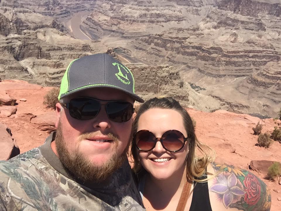 Enjoying the View at the Grand Canyon