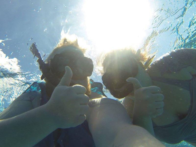 Snorkeling in Jamaica