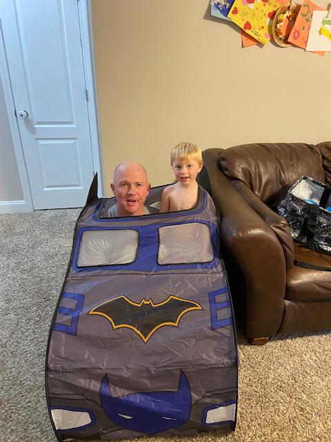 Cruisin in the Batmobile