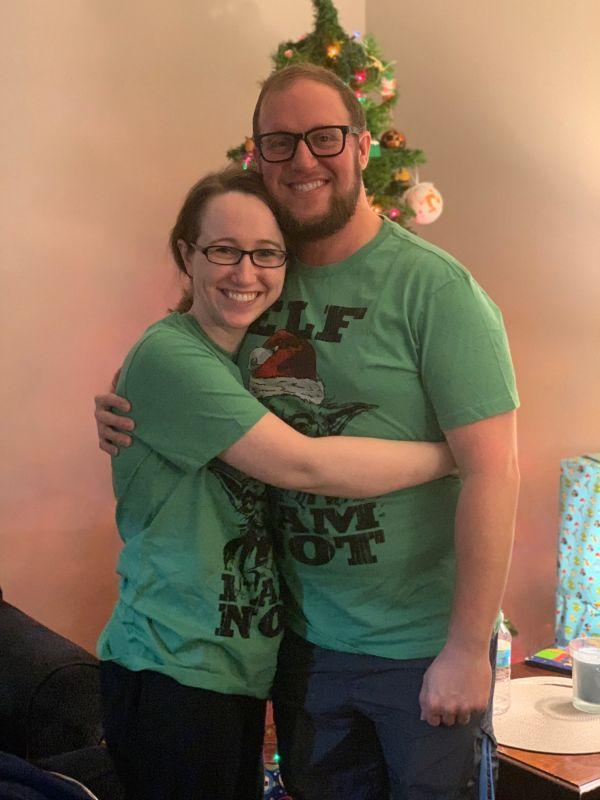 Matching PJ's for Christmas