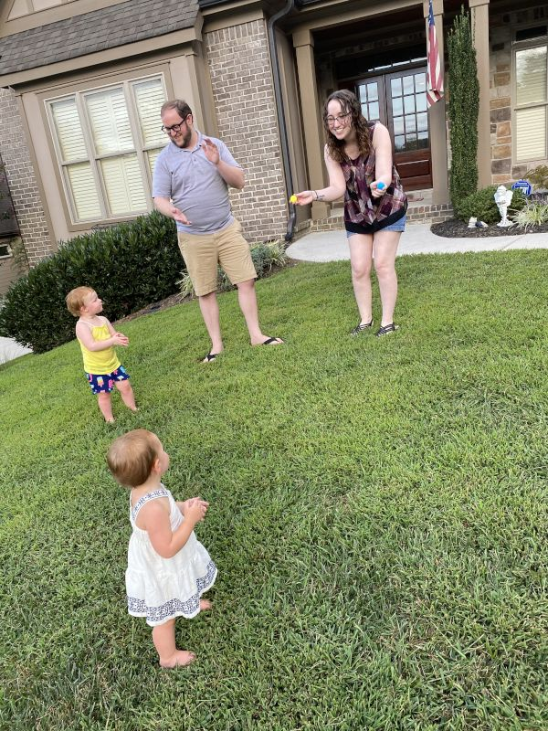 Singing & Dancing With Our Friend's Children