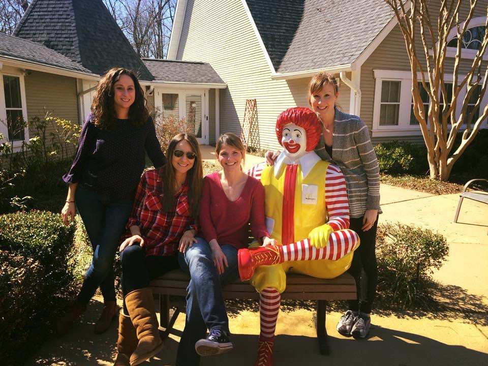 Volunteering at the Ronald McDonald House