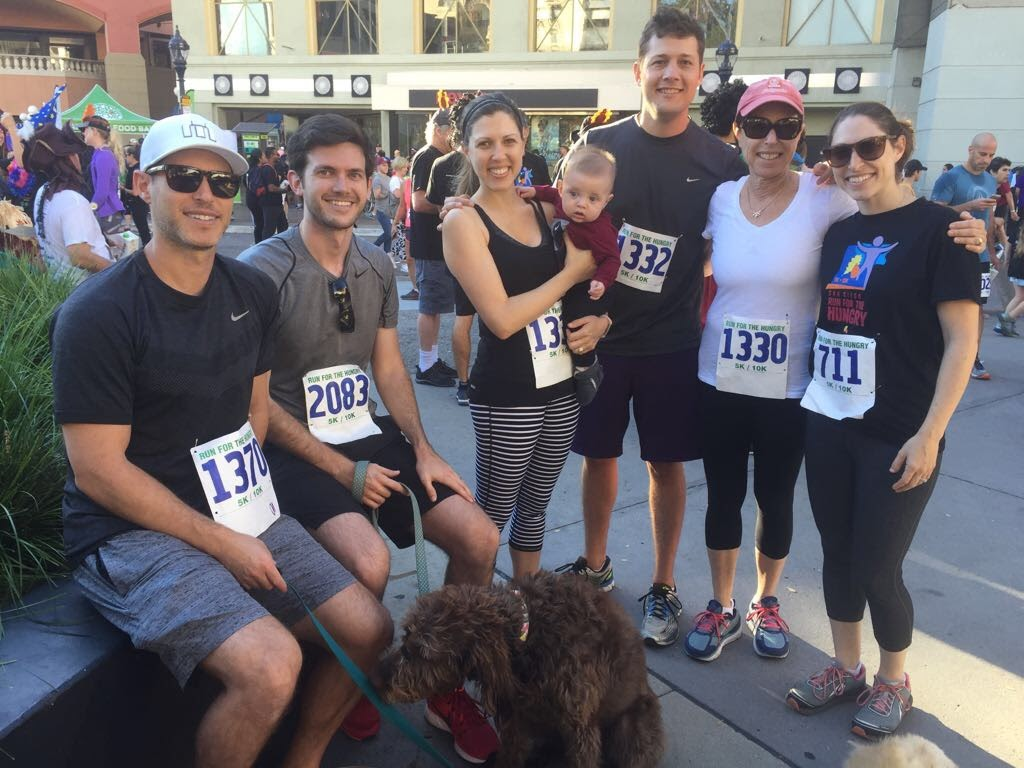 Thanksgiving 5K With Jessica's Family