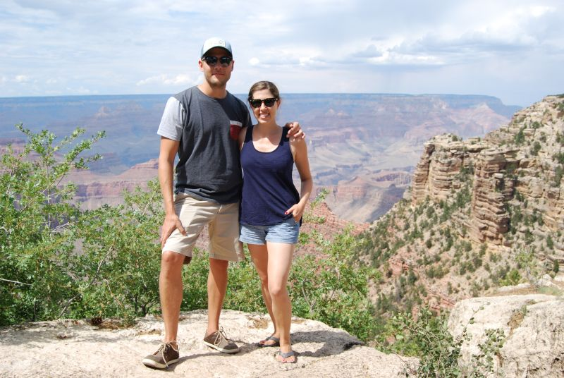Taking in the Views at the Grand Canyon