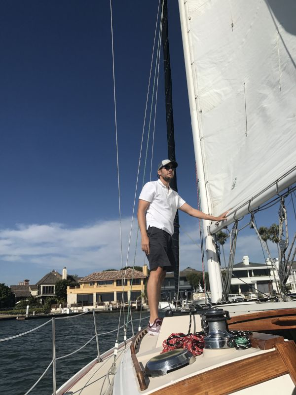 Helping to Get the Sails Set