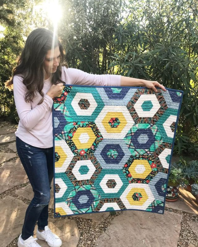 Showing Off a Finished Quilt