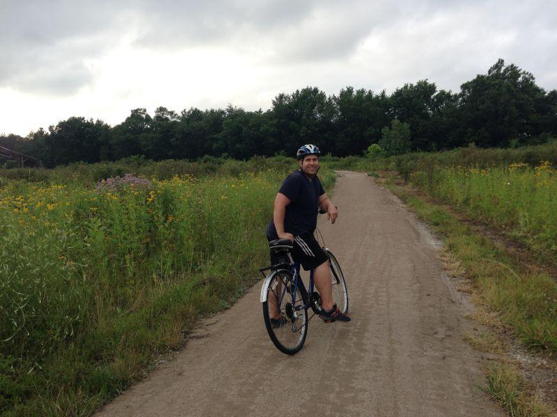 Biking the Midwest Prairie