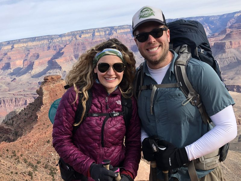 Hiking Down the Grand Canyon