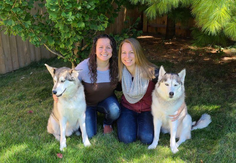 Family Photo in the Backyard