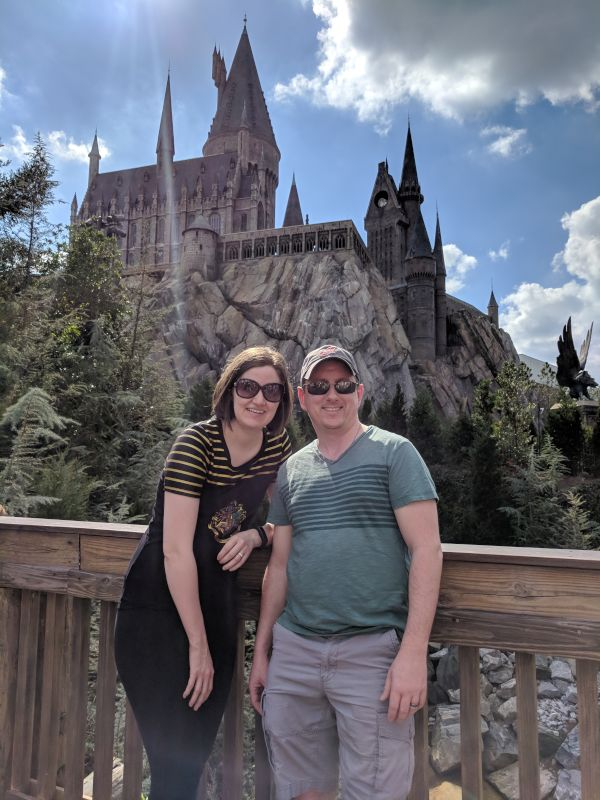 Checking Out the Hogwarts Castle