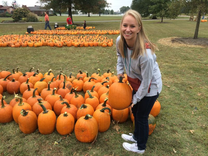 Choosing the Perfect Pumpkin is a BIG Deal Around Our House