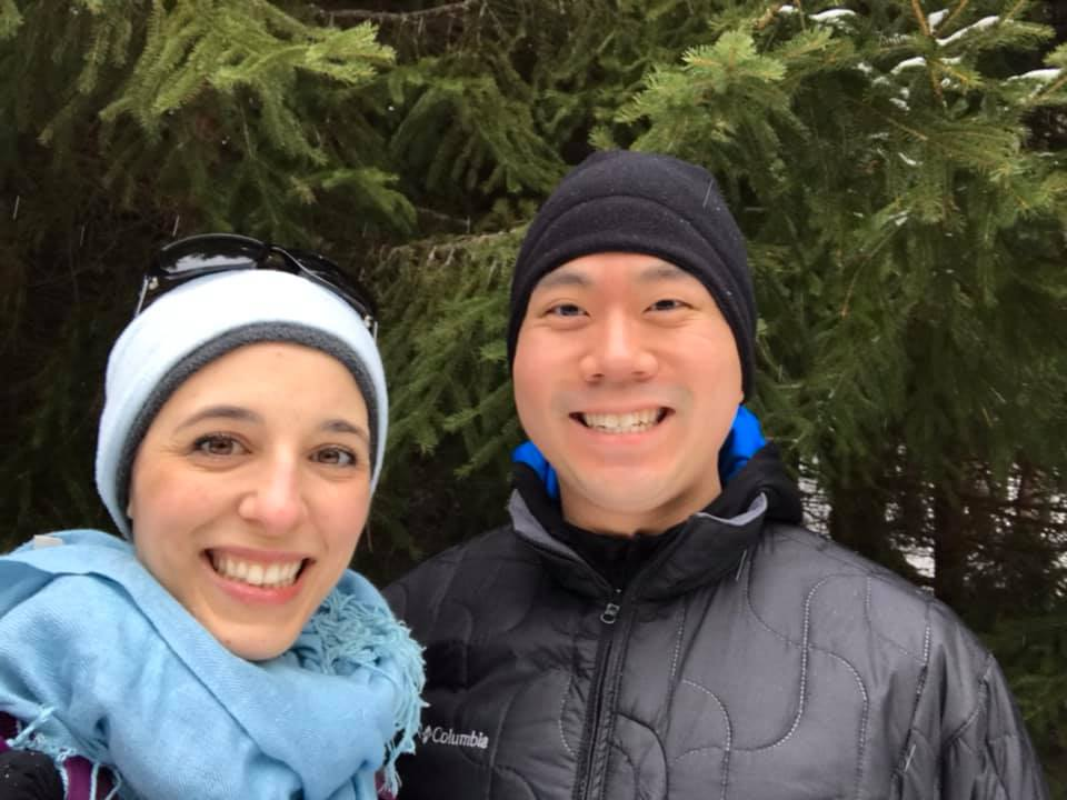 Snowshoeing Up North