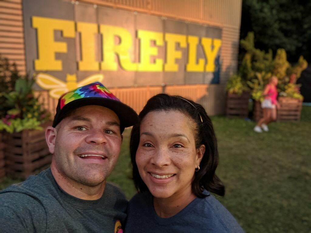 At Firefly Music Festival
