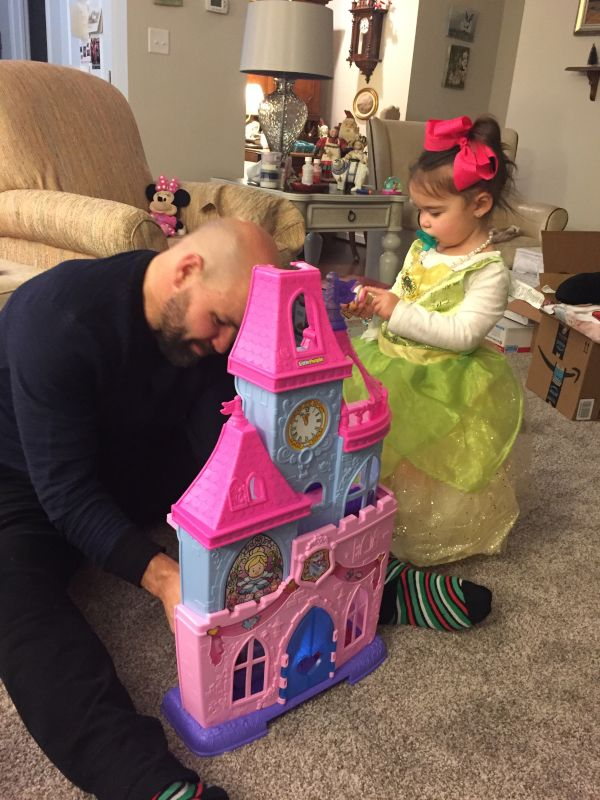Nathan Having Fun With Our Niece