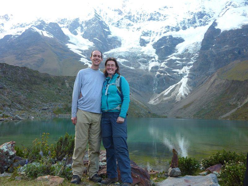 Exploring a Mountain Lake