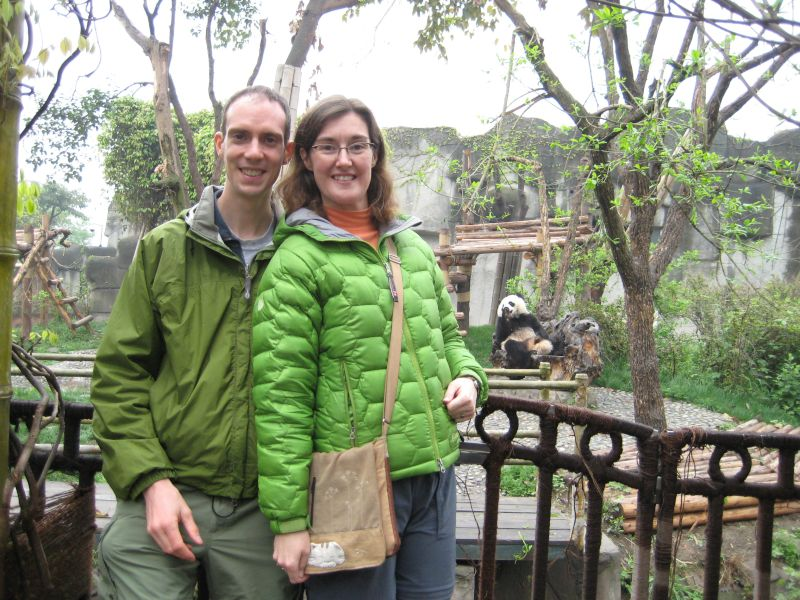 With Pandas in China