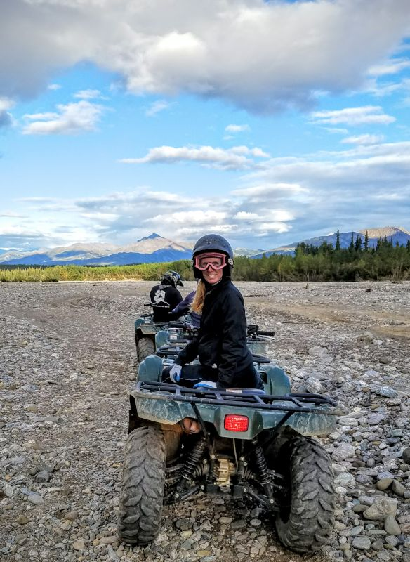 Riding Quads in Alaska