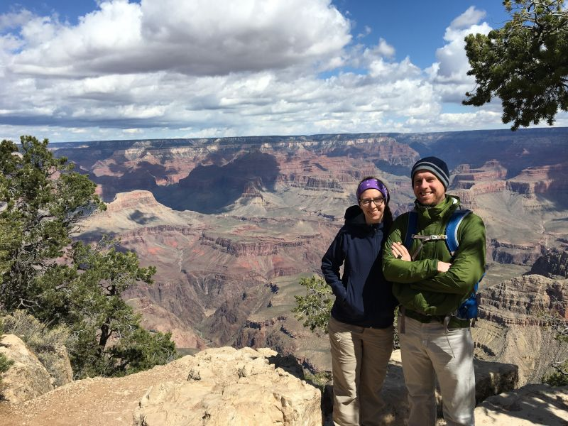 Chilly Dat at the Grand Canyon