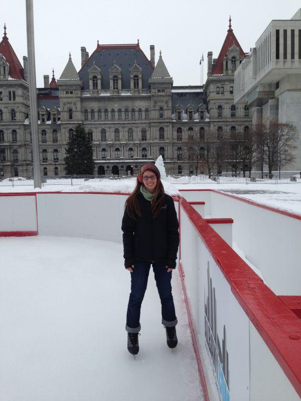 Ice Skating on Christmas Vacation