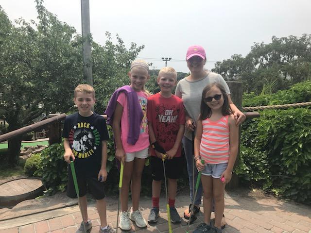 Aunt Alex & Her Mini-Golf Team