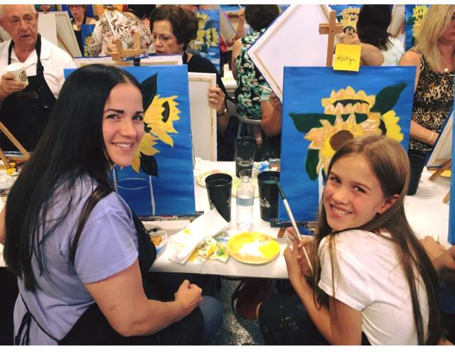 Paint Night with Kaitlyn