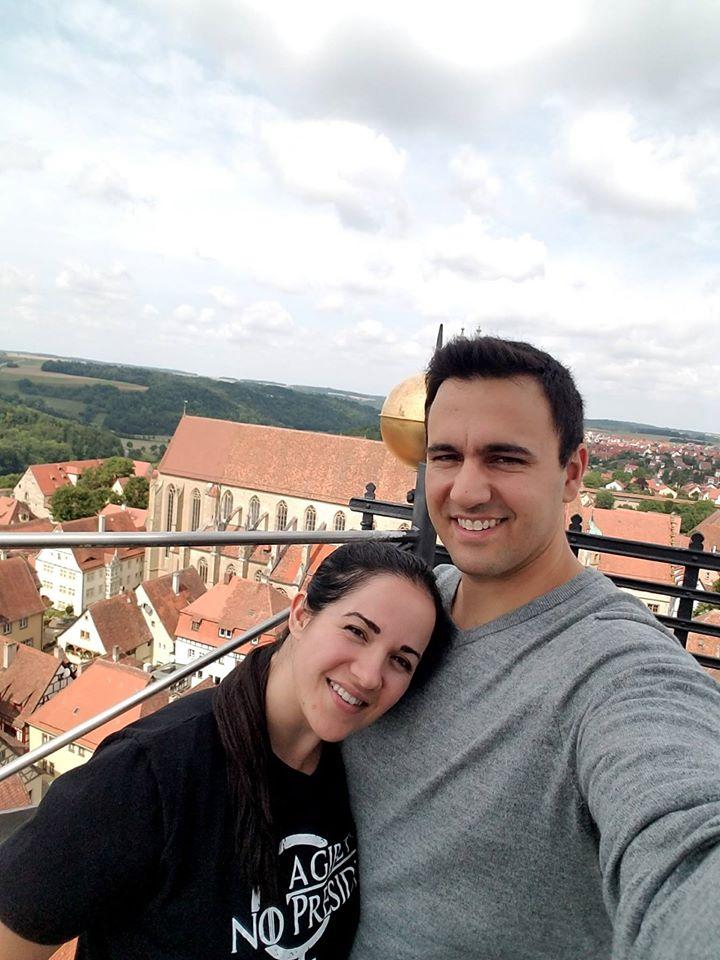 Beautiful Views at Monastery Tower