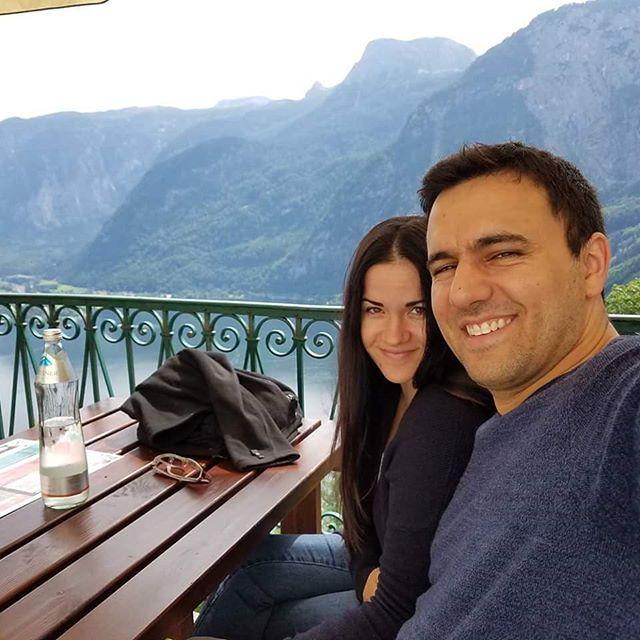 On Our Honeymoon in Austria